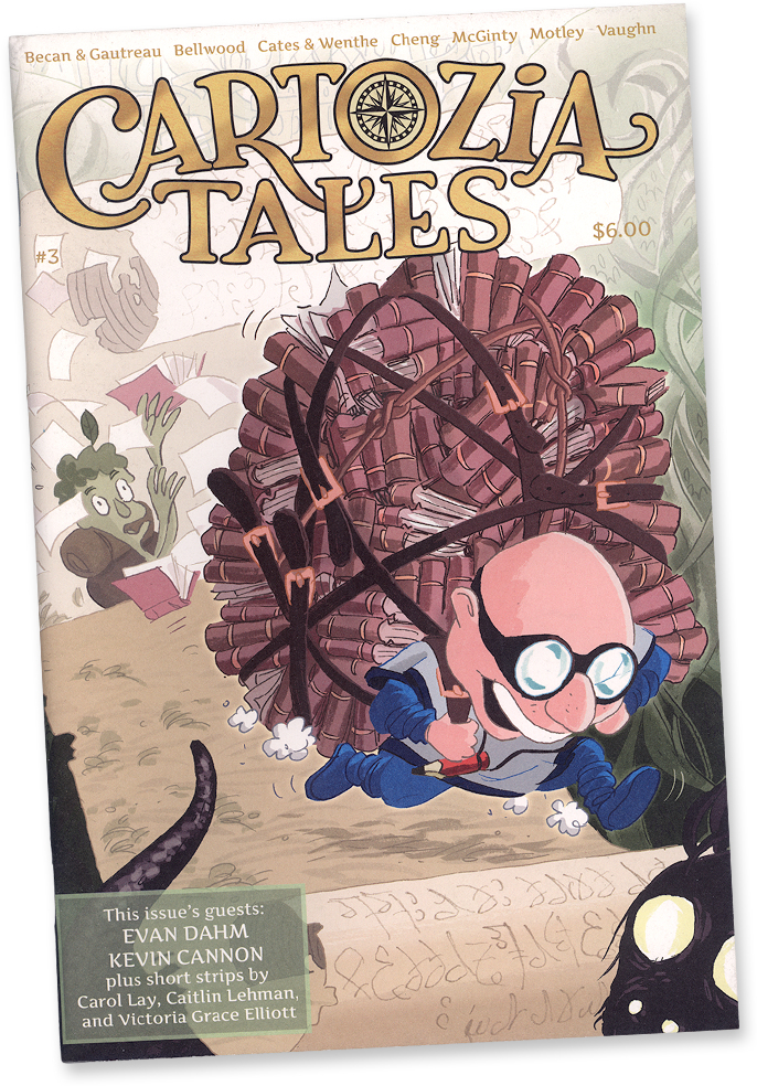 Cartozia Tales #3 edited by Isaac Cates