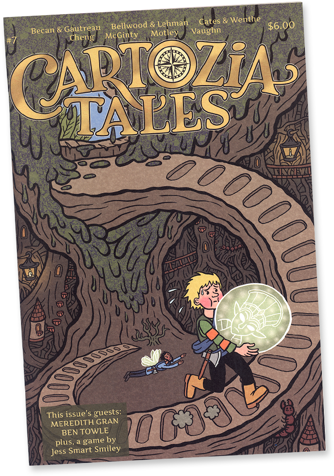 Cartozia Tales #7 edited by Isaac Cates