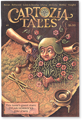 Cartozia Tales #1 edited by Isaac Cates