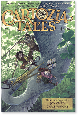 Cartozia Tales #4 edited by Isaac Cates