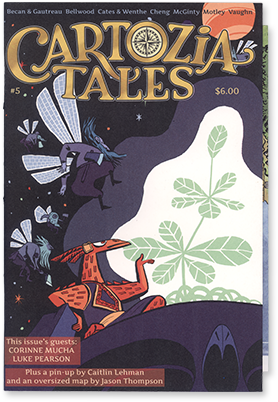 Cartozia Tales #5 edited by Isaac Cates