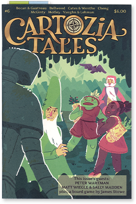Cartozia Tales #6 edited by Isaac Cates