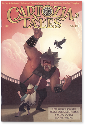 Cartozia Tales #8 edited by Isaac Cates
